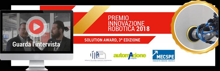 Premio innovazione robotica 2018