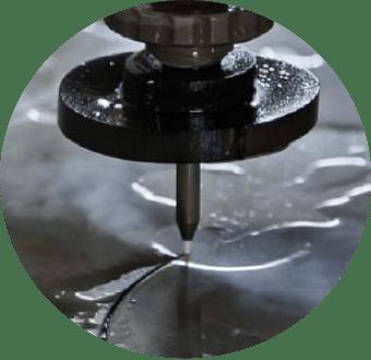 Taglio Waterjet SandRob