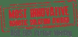 Most innovative robotic solution award