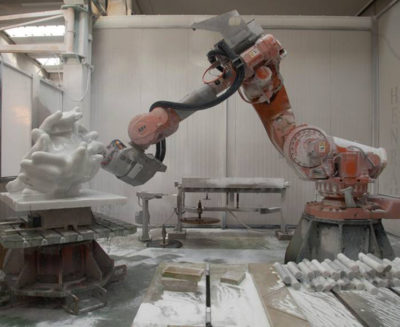 ScultoRob, the robotic milling system that combines cutting speed, precision and flexibility